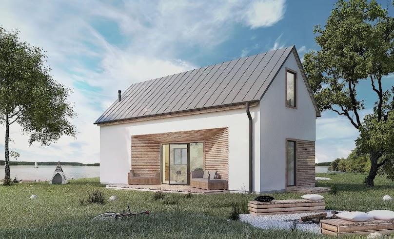 Projekt domu Pilawa 03