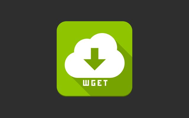 Wget GUI Light chrome extension