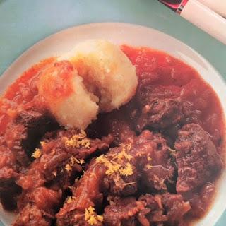Ingredients German Beef Onion Stew Recipe
