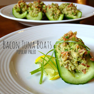 Bacon Tuna Boats (Mayo-Free!)