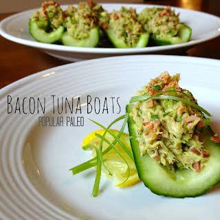Bacon Tuna Boats (Mayo-Free!).