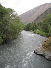 Photo: Ak-Bura river (view up, S)
