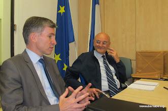 Photo: Rencontre avec le Conseiller aux Affaires religieuses