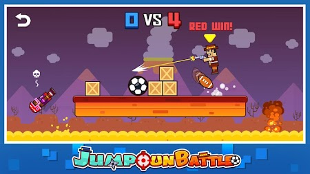 Jump Gun Battle APK screenshot thumbnail 2
