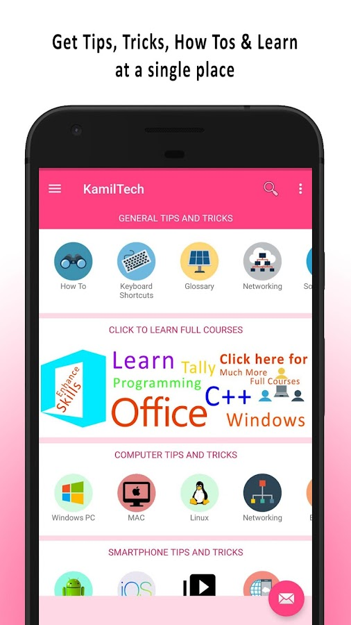 KamilTech - Your Technical Friend Tips & Tricks- screenshot
