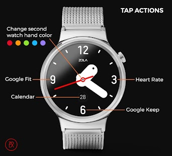 Bold Analog Watch Face Screenshot