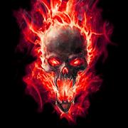 Hells Skull Live Wallpaper