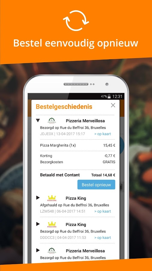 Takeaway Com Order Food Android Apps On Google Play
