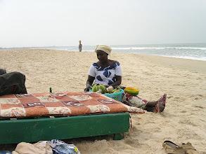 Photo: GAMBIA - plaża nad oceanem