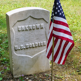 Mackinac Island Cemetery by Wendy Alley - City,  Street & Park  Cemeteries (  )