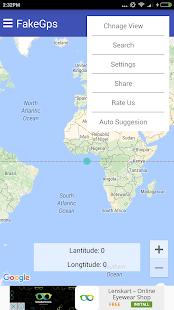 FAKE GPS screenshot