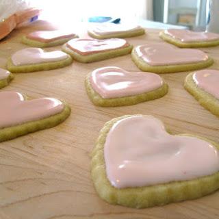 Valentine's Day Sugar Cookies   Heart Sugar Cookies  