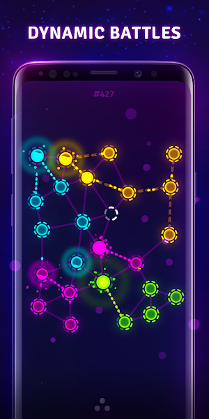 Splash Wars - glow space strategy game