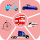 Coloring of Land Transportation (app)