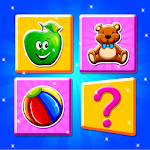 Kids Memory Puzzles - Matching Card Icon
