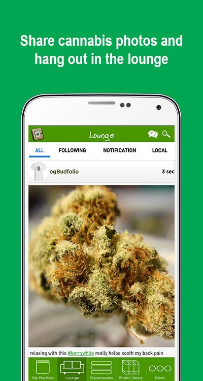 Budfolio- screenshot