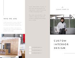 Joanna Home Design - Trifold Brochure item