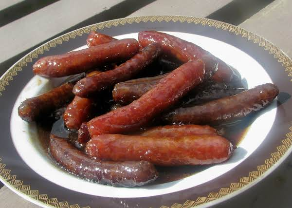 Maple-glazed Sausages