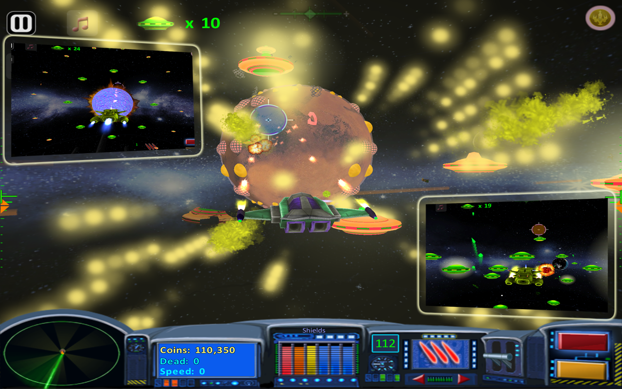 AsterDroids- screenshot