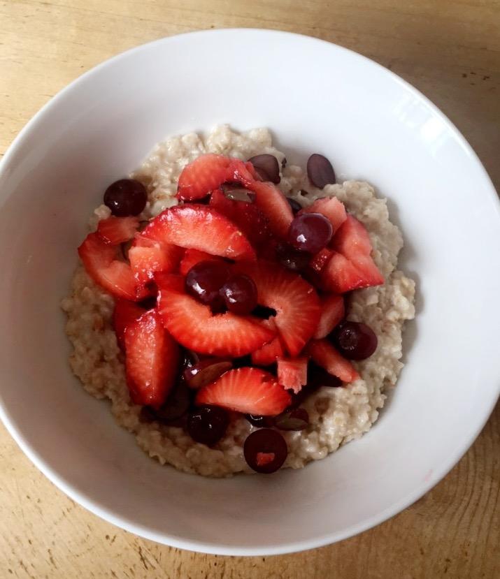 Tiffany Larson Oatmeal & Fruit.JPG