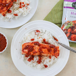 Harissa Roasted Salmon
