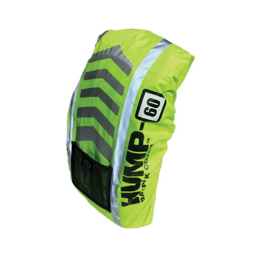 Custom Printed Hi-Viz Hump Backpack Covers