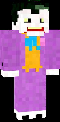 Joker from the animated series skin