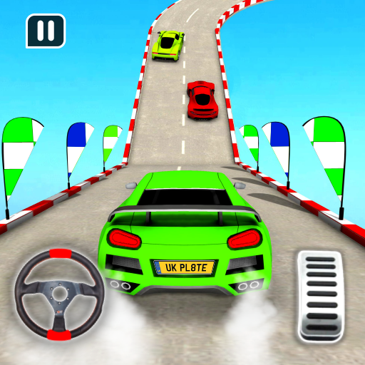 carro jogos rampa corrida - carro acrobacias jogos