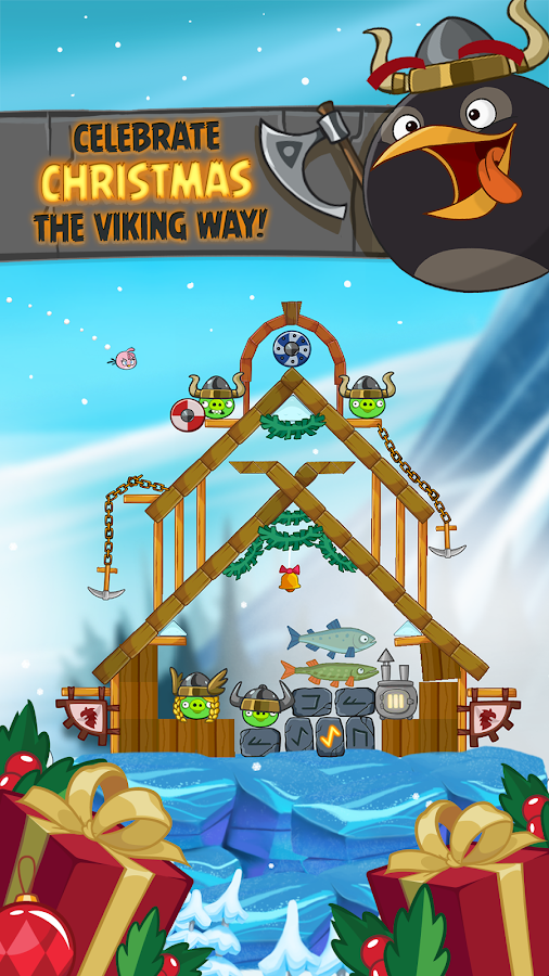 Angry Birds Seasons – zrzut ekranu