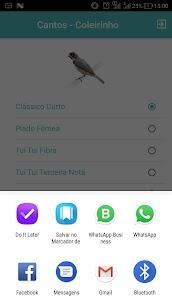 Cantos Coleirinho – Tuí Fibra, Zel Zel e Clássico. 1.0.7 Latest MOD APK 3