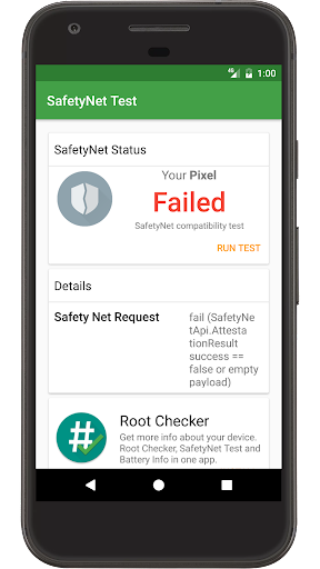 SafetyNet Test screenshot 3