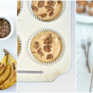 The Best Ever Healthy Banana Bread Muffins.
