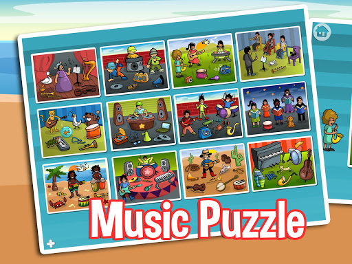 ミュージックパズル - 子供のための楽しいです