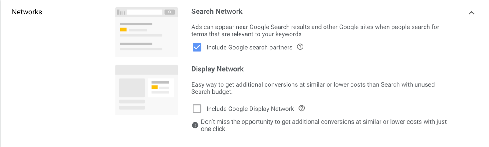Search networks