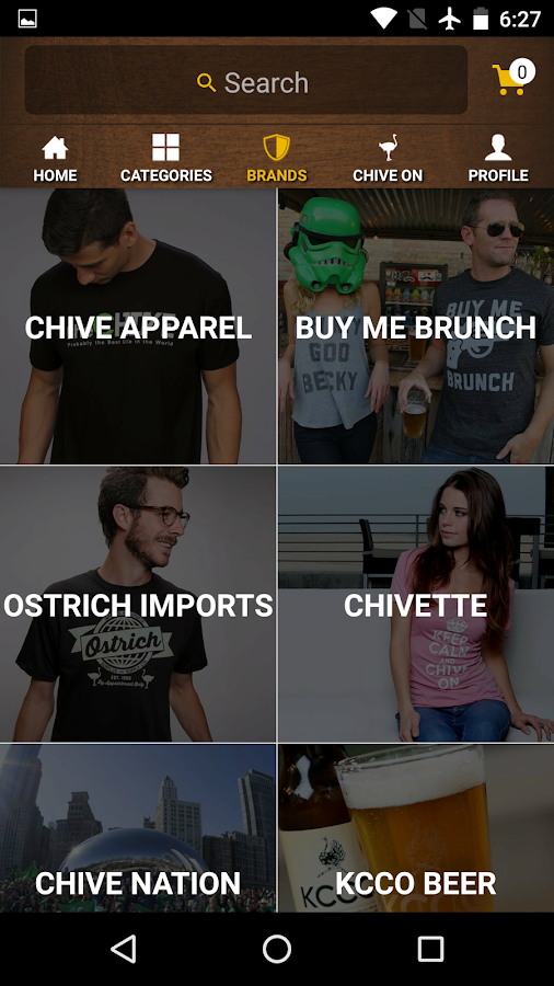 The Chivery: Chive Gear & More- screenshot