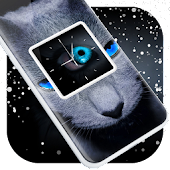Blue Eyes Clock Live Wallpaper Android APK Download Free By Paris Clock