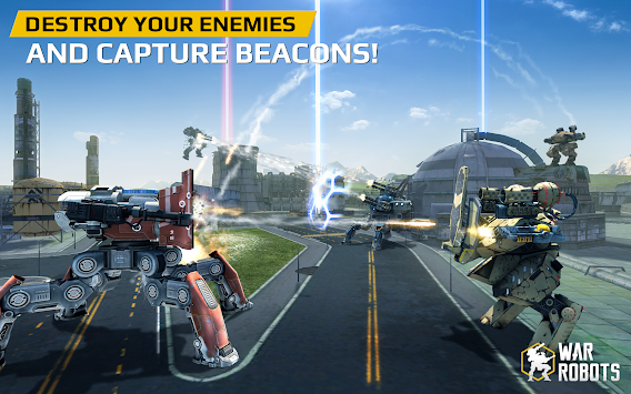 Walking War Robots apk screenshot