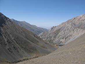 Photo: Gandakush pass, view to Ulitor ravine