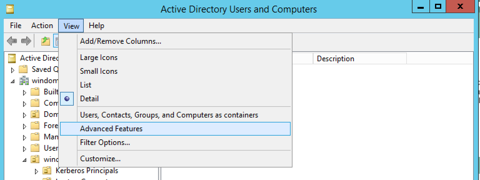 Setting up an Active Directory DataStore in OpenAM - ForgeRock Forum