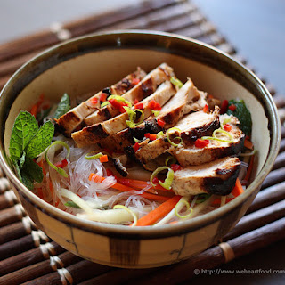Vietnamese Lime & Mint Chicken.