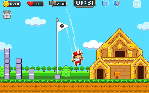 Super Jim Jump - pixel 3d 3.5.5002 Screenshots 17