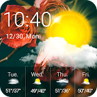 Meteo Clock Widget Rose icon