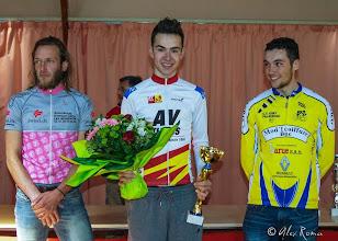 Photo: Baptiste B vainqueur de la course en ligne de Paris à Sorel moussel le 11 mai 2014