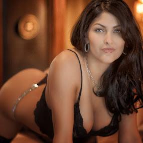 Playboy's Kristen D. by Gary Helland - Nudes & Boudoir Boudoir