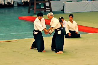 Photo: First stage of shiho nage.