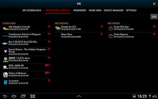 Screenshot of Singtel TV GO