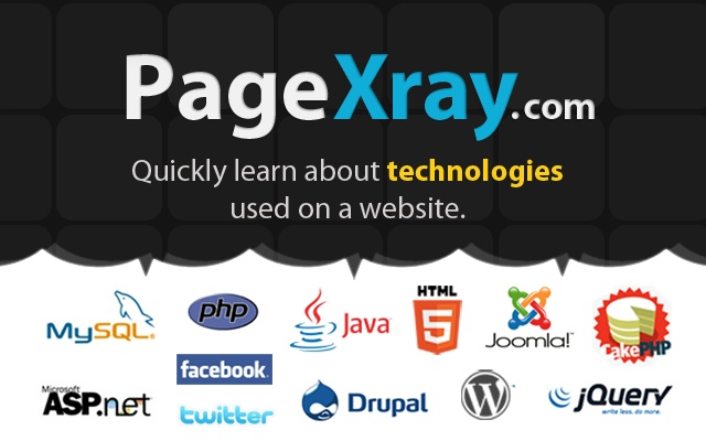 PageXray chrome extension