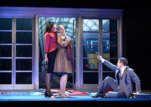 Photo: Wiener Kammeroper/ Theater an der Wien: RINALDO. Inszenierung Christiane Lutz. Premiere 4.12.2014. Natalia Kawalek-Plewniak, Ganya Ben-Gur Akselrod, Jake Arditti, . Foto-Copyright: Barbara Zeininger