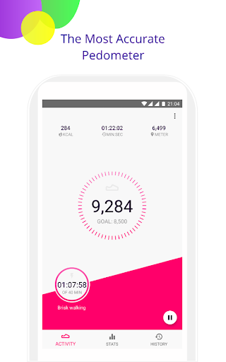 Step Counter - Pedometer Fitness app screenshot 1 for Android