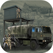 Off road Military Truck Checkpost